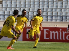 El portero del Al Ahed hizo una cantada espectacular en la AFC Cup. FALebanon