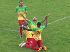Atlético Palmaflor sumó su cuarto triunfo. Youtube/LosTiemposBolivia