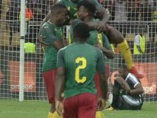 Camerún se clasificó para la Copa África. Captura/FoxSports