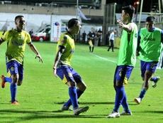 El gol de Di Vanni le dio el triunfo a Deportivo Capiatá. Deportivo Capiatá