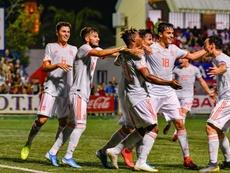 España golea a Rusia y se lleva el COTIF. Twitter/Cotif