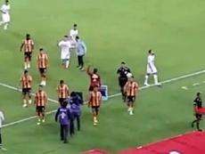 Suspendieron el partido entre Morelia y Pumas por el temporal.  Captura/Record