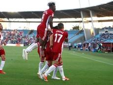 El Almería suma 17 puntos en los primeros siete encuentros de la competición. UDAlmería