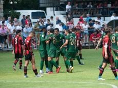 El Athletic comenzó la pretemporada goleando. AthleticClub