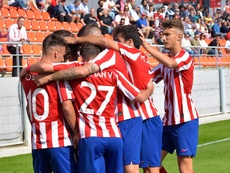 El Oviedo B y el Atlético B deben buscar una nueva fecha para el partido. ClubAtléticodeMadrid