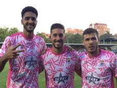El Badajoz recupera el sitio y gana al Talavera. Twitter/CDBadajoz