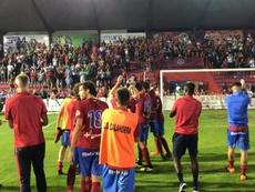 Nueva jornada en la Copa del Rey. Twitter/CDCalahorra