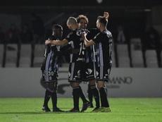 Jovanovic y el Cartagena apartan del sueño al Leioa. FCCartagena_efs