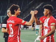 El RB Salzburgo se afianza en el liderato. Twitter/RedBullSalzburg