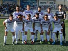 El Jaén sufrió un empate en los últimos compases del partido. SalamancaUDS