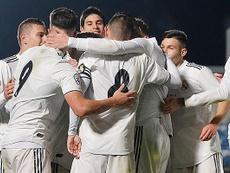 El Castilla goleó a Unionistas y se puso en cuarta posición. RealMadrid