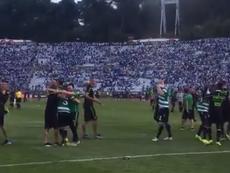 El Sporting se puso la corona en la tanda de penaltis. Captura/SportingCP