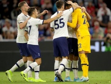 El Tottenham se llevó la Copa Audi ante el Bayern. TottenhamHotspur