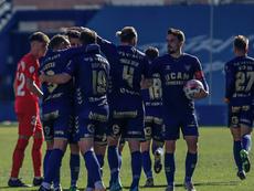 El UCAM Murcia cayó ante el Sevilla Atlético. UCAMMurciaCF