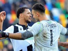 Pierpaolo Marino ve absurdo volver a jugar. Udinese_1896