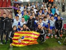 El Zaragoza se metió en segunda ronda. RealZaragoza