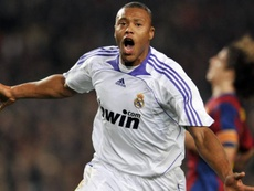 Baptista scored the only goal of the game at the Camp Nou. AFP