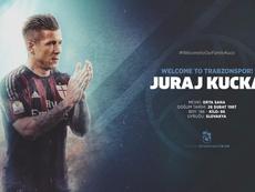 Trabzonspor appoint Juraj Kucka as their new player. Trabzonspor