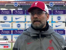 Jurgen Klopp confirmed Milner has a muscle injury. Screenshot/BTSport
