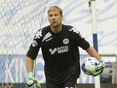 Jussi Jääskeläinen ha renovado su contrato un año más con el Wigan Athletic. AFP