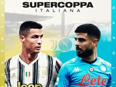 Juventus e Napoli fazem a final da Supercopa da Itália. BeSoccer