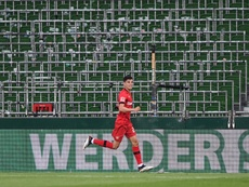 Havertz fez dois gols na vitória do Bayer. Twitter/bayer04_es