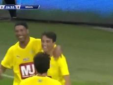 De Kaká a Ronaldinho: el 'jogo bonito' volvió a Brasil. Captura/10Ronaldinho