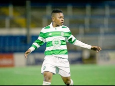 Karamoko Dembele in action for one of Celtic's youth teams. Twitter