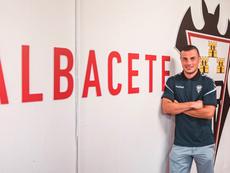 Azamoum habló de su llegada al Albacete. Albacete