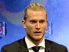 New Besiktas signing Loris Karius. AFP