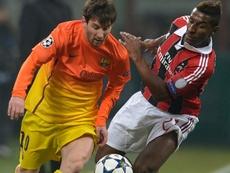 Constant pasó su mejor época en el Milan, pero ahora se tiene que conformar con la Liga Suiza. AFP