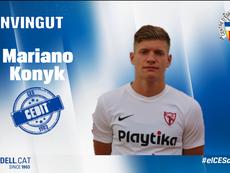 Konyk jugará en calidad de cedido en el Sabadell hasta junio. CESabadell