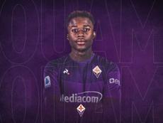 OFFICIEL : Kouamé débarque à la Fiorentina. Twitter/Fiorentina