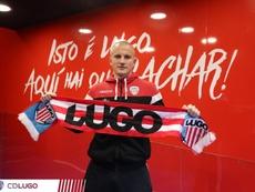 Kravets no ocultó que quería regresar al Lugo. CDLugo