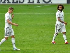 Kroos et son équipe méritent la défaite. AFP