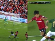 Kubo demostró provocando un penalti en los minutos finales su enorme calidad. Captura/LaLigaTV