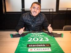 Voltam a afastar o mais novo dos Hazard. Twitter/cercleofficial