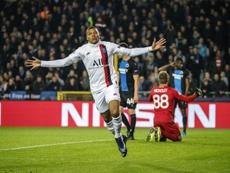 Substitute Kylian Mbappe scored a hat-trick as Paris Saint-Germain. PSG