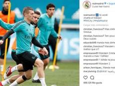 La afición pide más dinero por Vinícius. Captura/Instagram