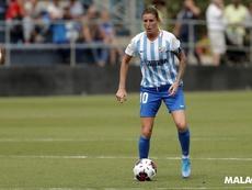 Adriana Martín jugará en la Liga Italiana. MálagaCFFemenino