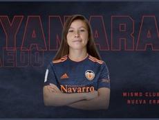 Yanara Aedo regresa al Valencia Femenino. ValenciaCFFemenino