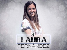 Laura Fernández ya ha firmado su nuevo contrato. Twitter/MadridCFF