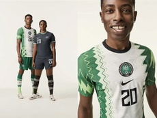 Nigeria mixes  history and innovation with its new kit . Twitter/thenff