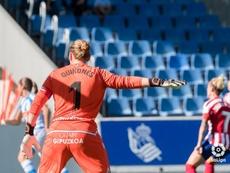 La Real vence al Logroño Femenino. Twitter/LaLiga