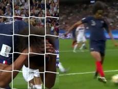 Wendie Renard anotó el gol en propia más absurdo del Mundial Femenino. Captura/GOL