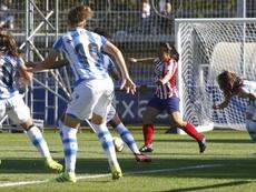 El Atleti presiona en la cima con una goleada. Twitter/AtletiFemenino