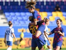 El fútbol femenino español será el último en comenzar. Twitter/FCBarcelonaFemení