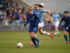 Tablas en la jornada número 17 de la Premier League Femenina. Twitter/ChelseaFCWomen