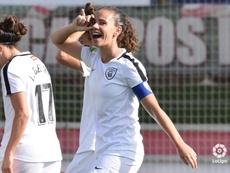 Alexandra abrió el marcador. Twitter/MadridCFF