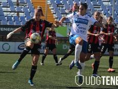 El Sporting Huelva adelanta al Granadilla por la permanencia. Twitter/UDGTenerife